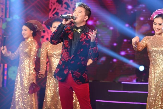 Đàm Vĩnh Hưng tham gia chương trình với ca khúc