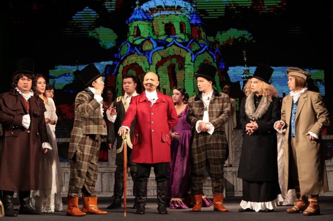 Tái hiện thế kỷ 19 đậm chất văn hóa Nga -la -tư trên sân khấu của Nhà hát Tuổi trẻ