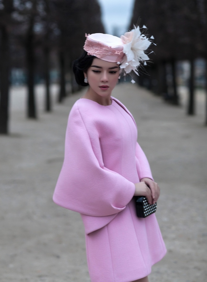 Lý Nhã Kỳ kết hợp hoàn mỹ giữahaute couture và trang sức kim cương