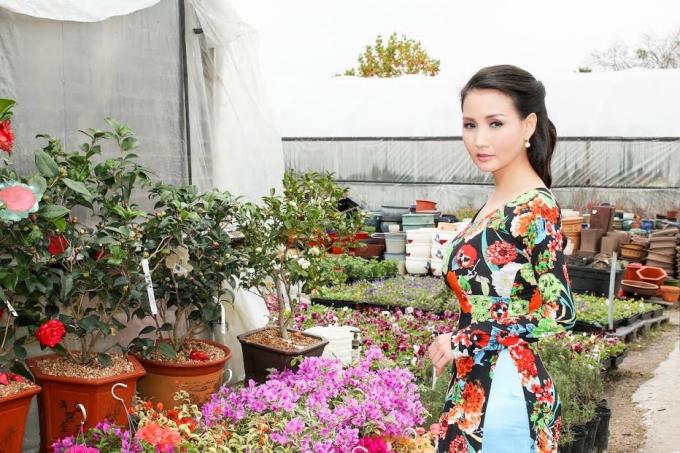 Hoa hậu quý bà châu Á Sương Đặng - Người phụ nữ thuần Việt trên đất Mỹ