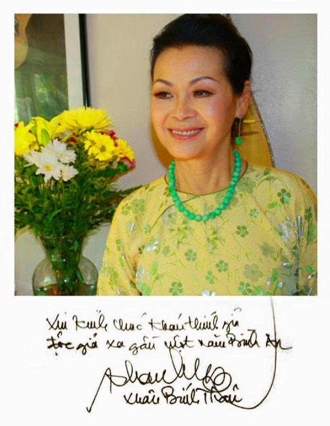 Lời chúc Xuân bình an của ca sĩ Khánh Ly gửi tặng khán thính giả