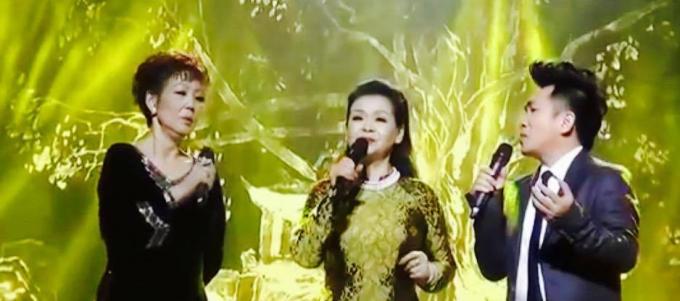 Ca sĩ Quang Thành - Khánh Ly và Kim Anh hòa giọng trong ca khúc