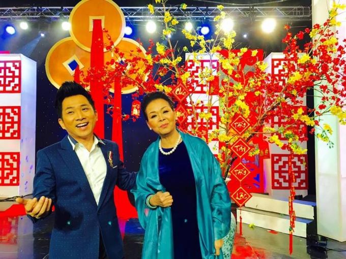 Ca sĩ Quang Thành người đồng hành của ca sĩ Khánh Ly trong mọi hoạt động văn hóa nghệ thuật và công tác thiện nguyện.