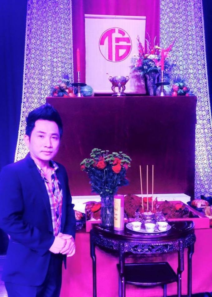 Ca sĩ Quang Thành xúc động gửi tri ân tới các bầu sô văn nghệ