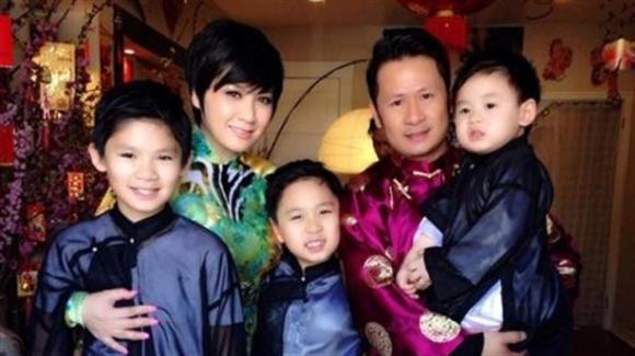 Bằng Kiều - Phương Trinh và ba cậu con trai