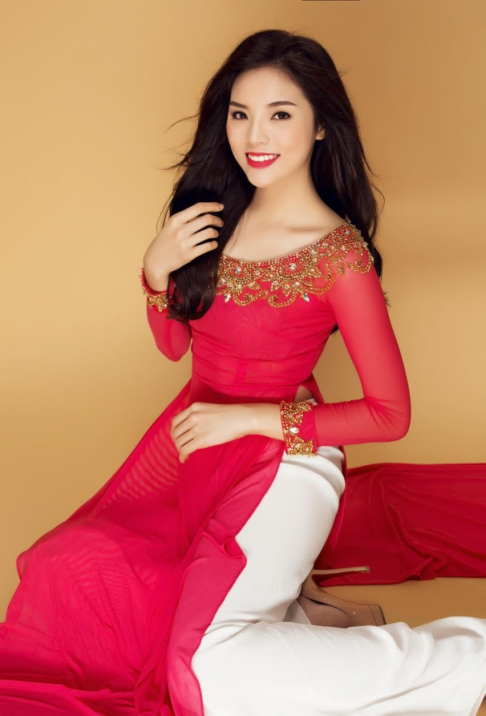 Kỳ Duyên hy vọng cuộc thi áo dài là sự tôn vinh người phụ nữ Việt trong tháng 3 đầy ý nghĩa