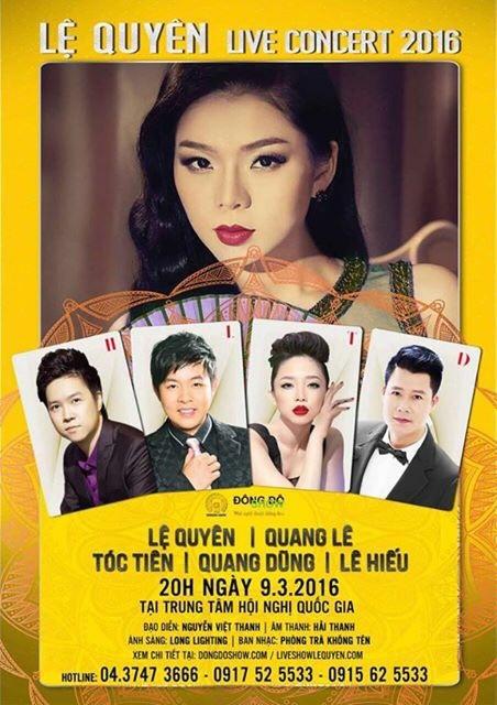 Ca sĩ Tóc Tiên sẽ trở thành nữ khách mời trong đêm diễn 9-3
