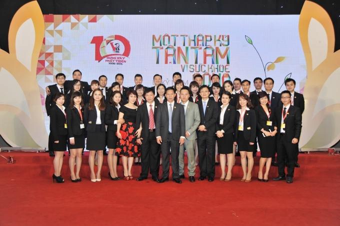 """Dược phẩm Việt Đức -""""Một thập kỷ tận tâm vì sức khỏe cộng đồng"""""""