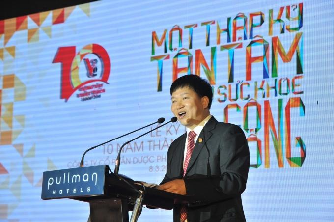 Ông Nguyễn Đăng Bẩy – Chủ tịch hội đồng quản trị, tổng giám đốc công ty dược phẩm Việt Đức