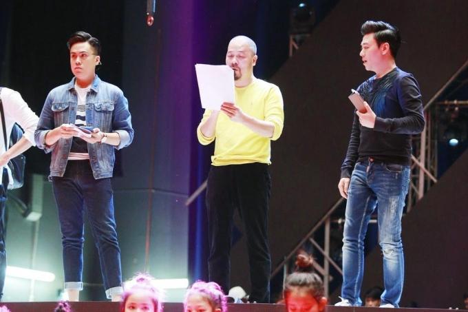 3 MC nam tham gia dẫn chương trình trong