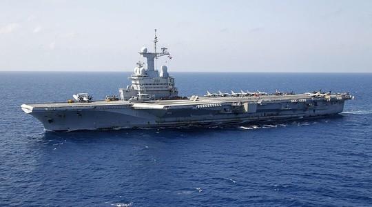 Tàu sân bay Charles de Gaulle của Pháp (Ảnh: Reuters)