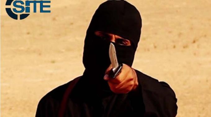 John thánh chiến, tay đao phủ khét tiếng của IS. (Ảnh: Reuters)