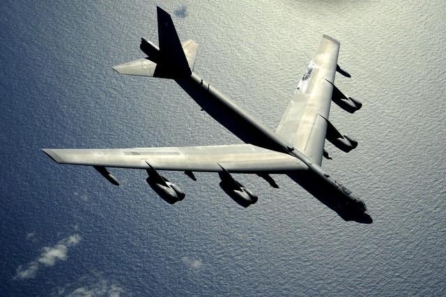 Máy bay B-52 của Mỹ. (Ảnh:cnet)