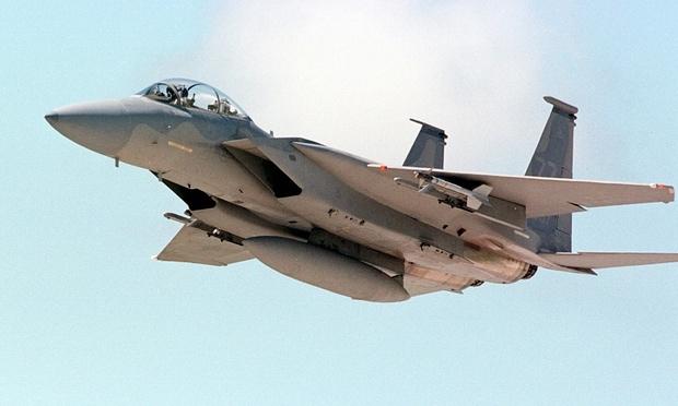 Máy bay F-15 của Mỹ. (Ảnh: AP)