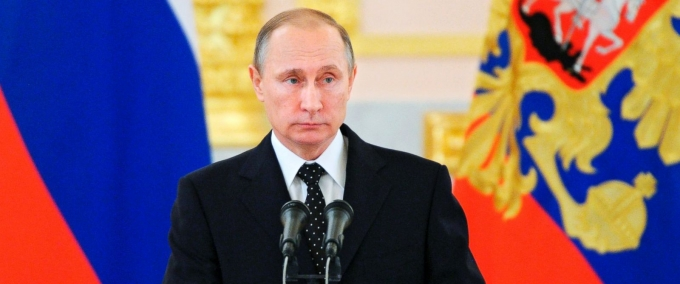 Tổng thống NgaVladimir Putin. (Ảnh:AP)