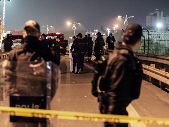 Đánh bom rung chuyển ga tàu điện ngầm tại Thổ Nhĩ Kỳ. (Ảnh:AP)