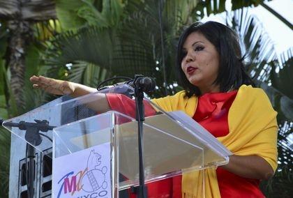 Bà Gisela Mota, tân thị trưởngthành phố Temixco đã bị ám sát. (Ảnh: Reuters)