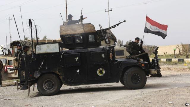 Lực lượng an ninh Iraq. (Ảnh: AP)