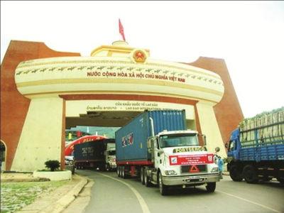 Xuất nhập khẩu qua biên giới giữa Việt Nam với Làochỉ đạt khoảng hơn 1 tỷ USD