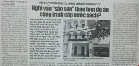 Thông tin sự việc như Báo Pháp Luật Việt Nam đã phản ánh.