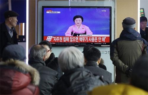 Triều Tiên thử bom H thu hút dư luận khắp thế giới.
