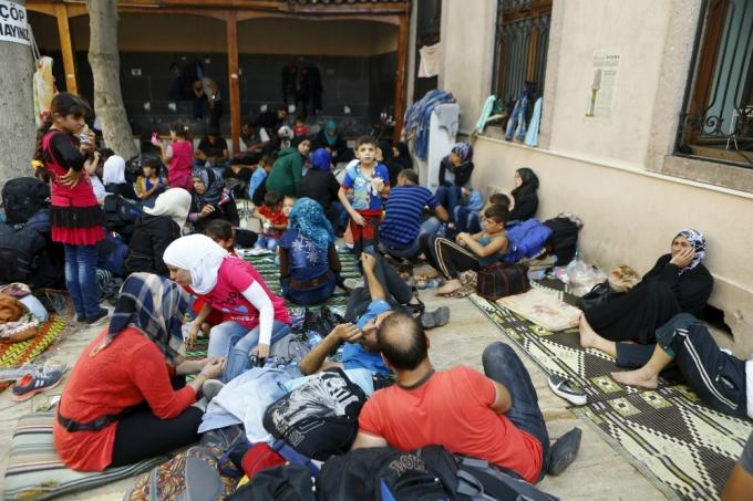 Người tị nạn Syria tại Thổ Nhĩ Kỳ phải sống cuộc sống thiếu thốn. (Ảnh: Reuters)