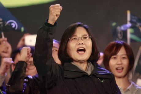 Bà Thái Anh Văn, Đảng Dân tiến, đã thắng cử.