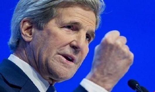 Ngoại trưởng Mỹ John Kerry. (Ảnh: Reuters)