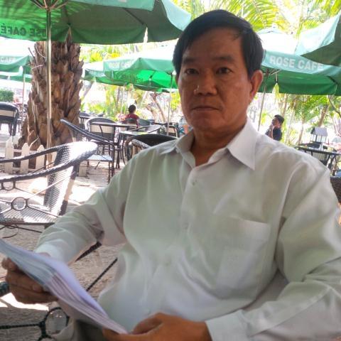 Nguyên Phó Chánh thanh tra Nguyễn Văn Nghĩa. Ảnh:Tuổi trẻ