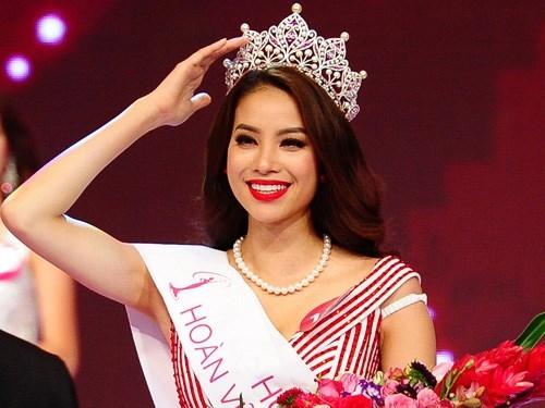 Hoa hậu Hoàn Vũ Phạm Hương. (Ảnh: Internet)