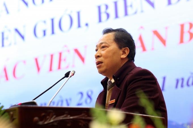 TS Đào Văn Hội- Tổng biên tập báo Pháp luật Việt Nam.
