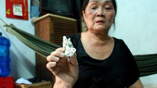 Mẹ của phạm nhân Vũ Văn Tiến. (Ảnh: Internet)