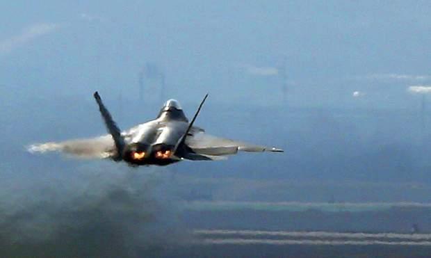 Chiến đấu cơ tàng hình F-22 của Mỹ. (Ảnh: AFP)
