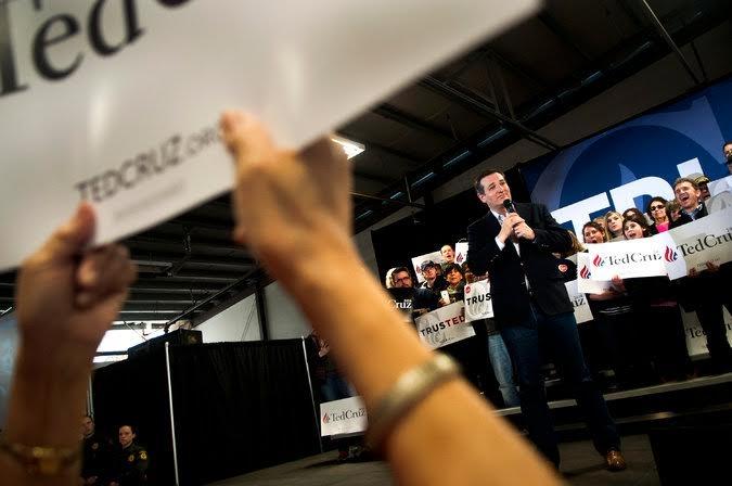 Thượng Nghị sỹ Ted Cruz tại một buổi vận động tranh cử ở Idaho. Ảnh: AP