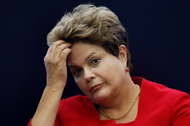 Tổng thống Dilma Rousseff.