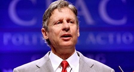 Cựu Thống đốc bang New Mexico, ông Gary Johnson, đại diện cho đảng Tự do ra tranh cử Tổng thống Mỹ.
