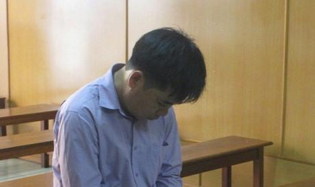 Cao Minh Đức tại phiên tòa phúc thẩm ngày 7/6.
