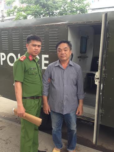 Võ Ngọc Quý bị bắt tạm giam 3 tháng.