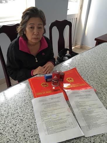 Bà Trần Thị Anh đã bị khởi tố.