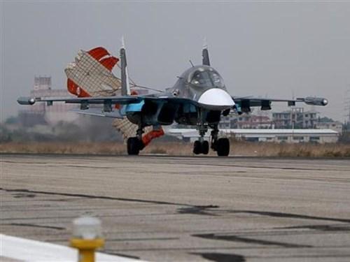 Chiến đấu cơ Su-30SM Nga.