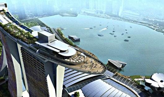 Vịnh Marina của Singapore đã suýt bị tấn công khủng bố bằng tên lửa.