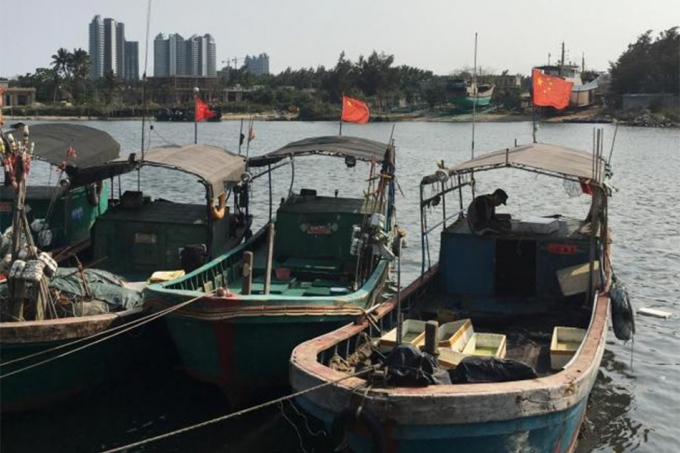 Thuyền đánh cá của ngư dân Trung Quốc. (Ảnh minh họa: ABS)