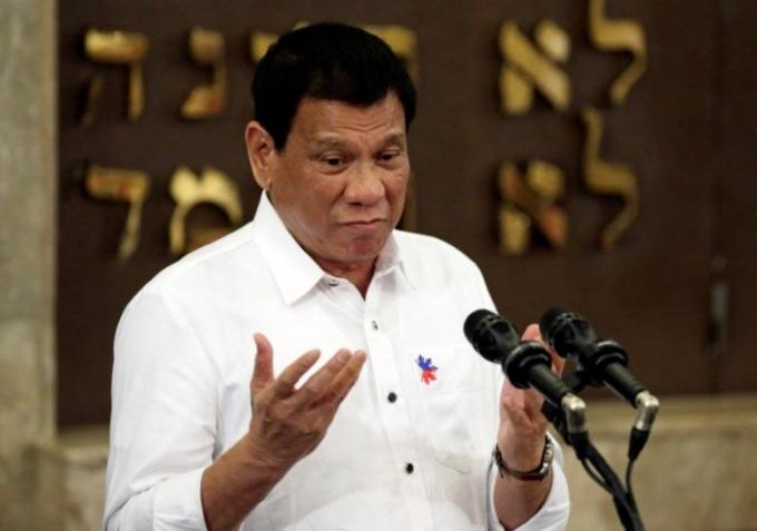 Tổng thống Philippines Rodrigo Duterte.