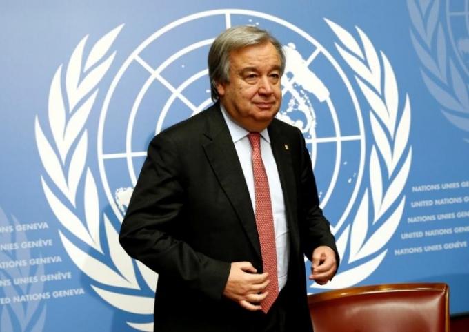 Ông Antonio Guterres.