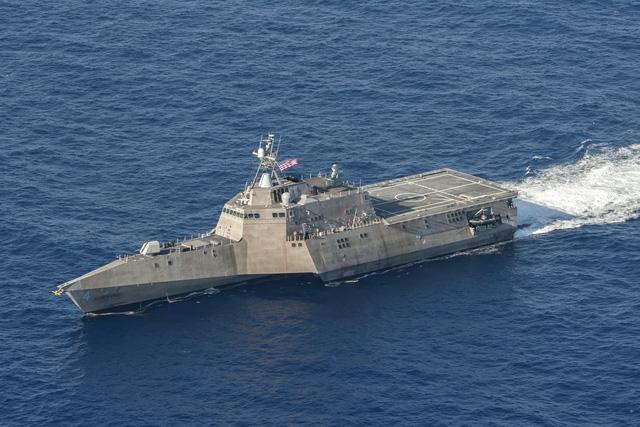 Tàu USS Coronado. (Ảnh: USNavy).