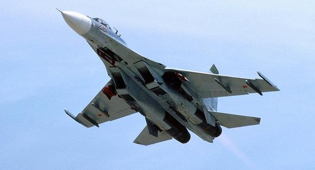 Chiến đấu cơ Su-27 của Nga (Ảnh: Sputnik)