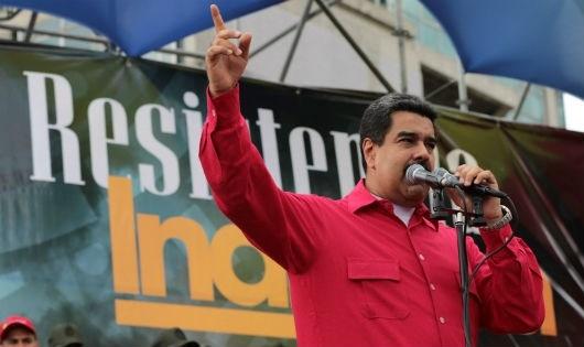 Tổng thống Maduro khẳng định quyết tâm đối thoại với phe đối lập nhằm tìm giải pháp cho cuộc khủng hoảng chính trị hiện nay.