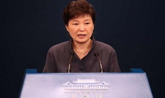 Bà Park Geun-hye.