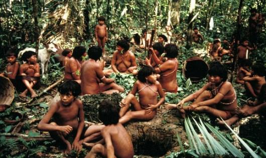 Bộ lạc hoang dã Yanomami.