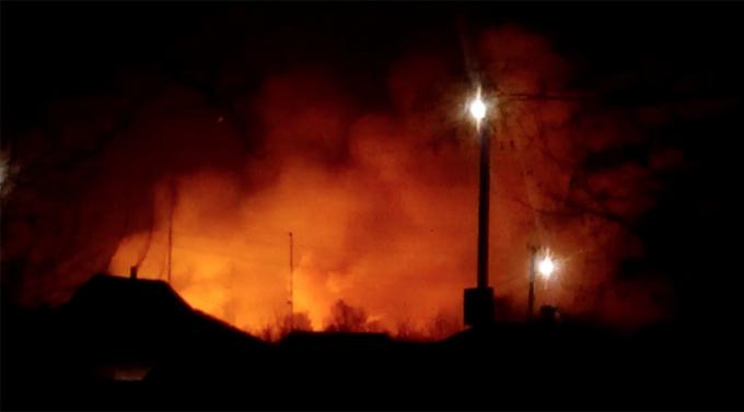 Vụ nổ xảy ra vào lúc 3h sáng 23/3 (theo giờ địa phương).